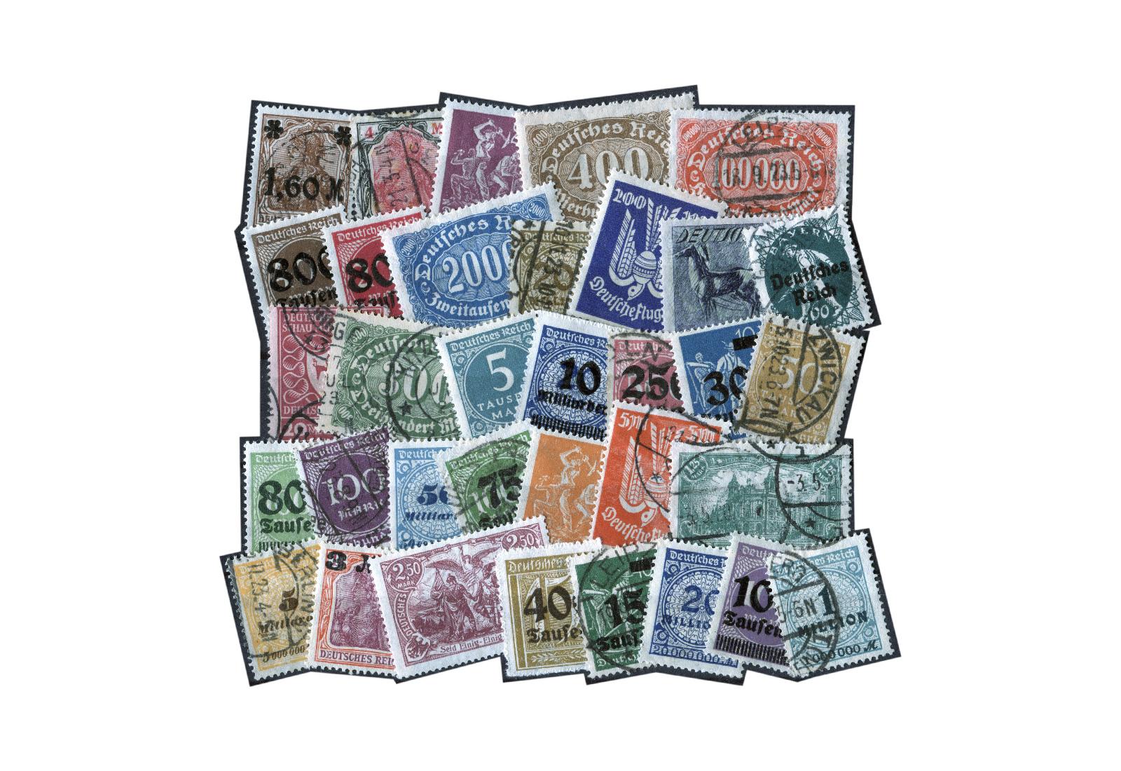 Briefmarken Zurückgeben